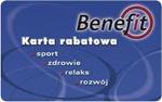 Karty rabatowe - Karta Benefit